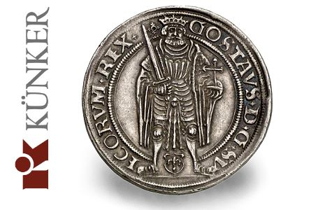 $72,000 Gustav I coin leads Julius Hagander Collection at Kuenker auction