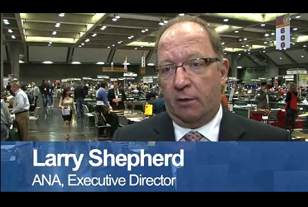 American Numismatic Association Executive Director Larry Shepherd