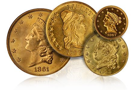 Coin Rarities & Related Topics: The Rarities Night auction, part 3, Gold Coins