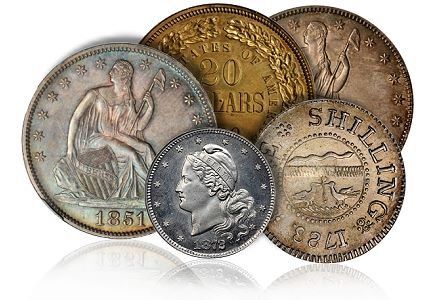 Coin Rarities & Related Topics: The Rarities Night auction, part 1, overview