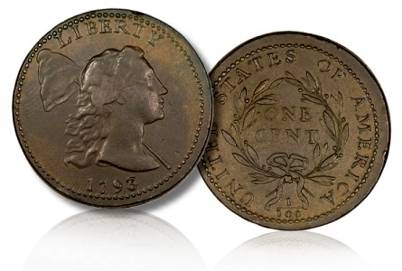 1793 S13 ha Coin Rarities & Related Topics: The Al Boka Collection of Large Cents By Date