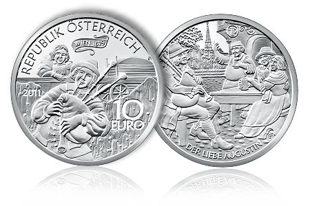Augustin Coin Austrian Mint Announces Final Legends of Austria Commemorative Coin