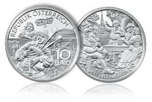 "Austrian Mint Announces Final ""Legends of Austria"" Commemorative Coin"