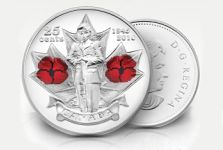 Royal Canadian Mint Proudly Supports Our Troops With $100,000 Donation to The Military Families Fund