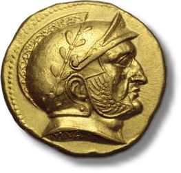 RomaNumismaticsCoin First Hellenistic Gold Coin Ever Struck To Be Auctioned In London On October 2nd