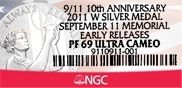 September11Label NGC Offers New Label for September 11 National Medal