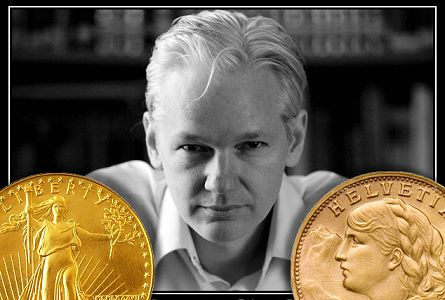 assange gold Leaked State Department Documents Confirm US Government Gold Price Suppression!
