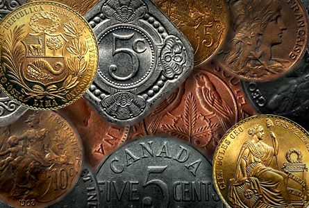 Ten Attractive and Cheap World Coins