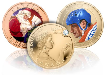 CanadianMintFallRelease Two Kinds of Royalty Shine in Royal Canadian Mints Newest Line of Collector Coins