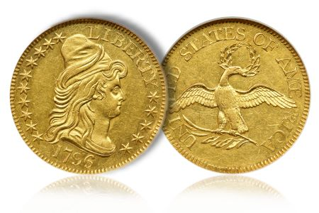 Greg5Dollar5 Coin Rarities & Related Topics: The Eliasberg 1796 Half Eagle ($5 gold coin)