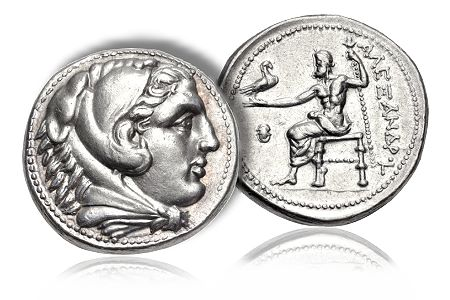 NGCAncients1 Tetradrachms of Alexander the Great