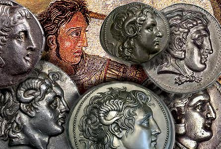 Tetradrachms of Alexander the Great