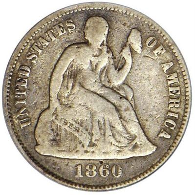 gr seated 10c Coin Rarities & Related Topics: Assembling Sets of Silver Coins, part 1, Dimes and Half Dollars