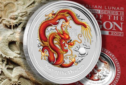 perth color dragon 2012 Colorized Australian Dragons To Be Issued as Proof Coins for First Time