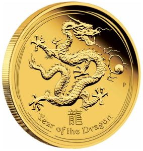 perth gold gragon 2012 Colorized Australian Dragons To Be Issued as Proof Coins for First Time