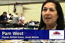 Pam West on Collecting British Paper Money, The IBNS and the Maastricht Paper Money Fair
