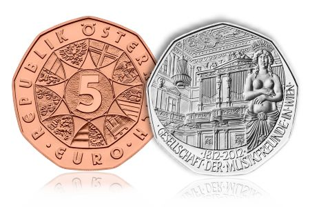 AustrianMint2012 Austrian Mint Announces First New Coin Issue of 2012