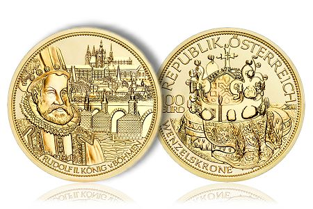 "AustrianMintNovember Austrian Mint Issues Fourth Gold Coin in the ""Crowns of the House of Habsburg"" Series"