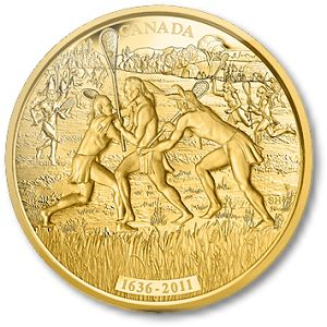 CanadianMintLacrosse Canadas Nature, Culture and History Boldly Displayed on Royal Canadian Mints Newest Collector Coins