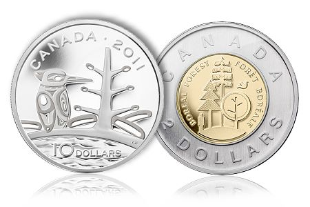 CanadianMintNature Canadas Nature, Culture and History Boldly Displayed on Royal Canadian Mints Newest Collector Coins