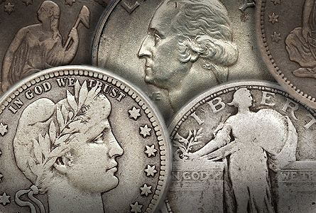 circ quarters Coin Rarities & Related Topics: Assembling Sets of Silver Coins, part 2, Quarters