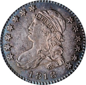 gr baltnoc 1818 25c Coin Rarities & Related Topics: Auction Results for Quarters in Baltimore