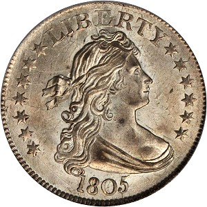 gr baltnov 1805 25c Coin Rarities & Related Topics: Auction Results for Quarters in Baltimore