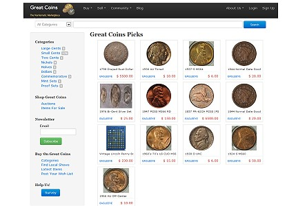 greatcollections2 GreatCoins.com Launches As Coin Collecting Experiences A Dramatic Upswing In Popularity