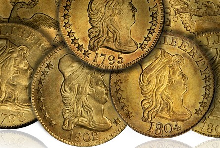 Coin Rarities & Related Topics: Early U.S. $5 gold coins – Bust Right Half Eagles