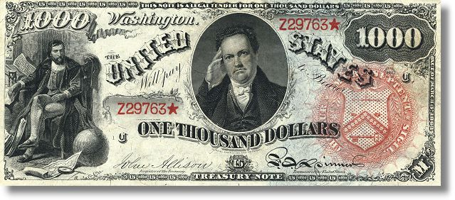 1000 sanchez $500 and $1000 Rainbow Notes Privately Sold