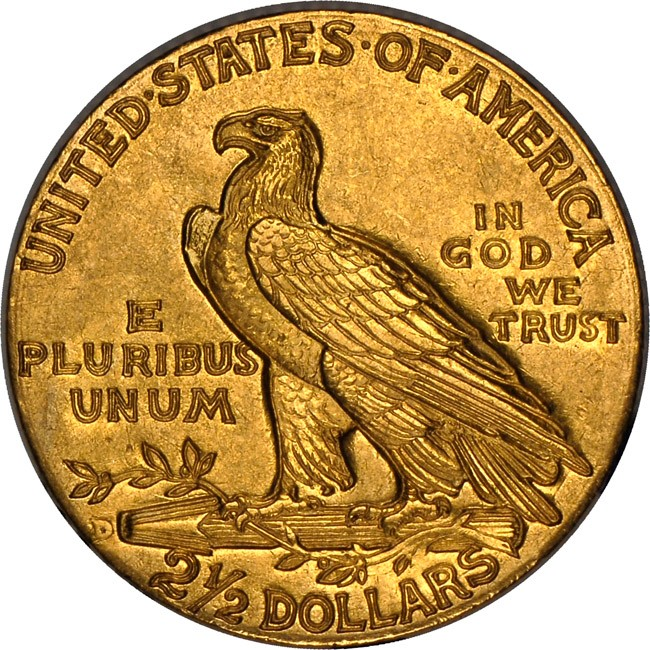 11d 250 chase rev Counterfeit Detection: 1911 D Quarter Eagle