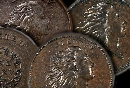 The Denis W. Loring Collection of 1793 Large Cents featured in Heritage's FUN Platinum night event