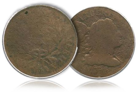 1795S 79 1795 S 79 B 9 Large Cent, sans Edge Reeding, makes debut in Heritage Orlando FUN Auction
