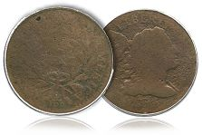 1795 S-79 B-9 Large Cent, sans Edge Reeding, makes debut in Heritage Orlando FUN Auction