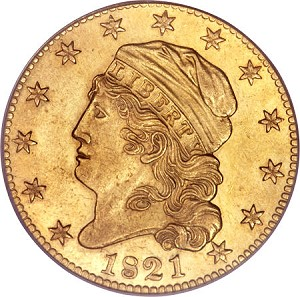 1821 5 fun12 Coin Rarities & Related Topics: The Harvey Jacobson Collection of Capped Head Half Eagles