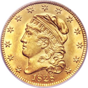 1828 5 fun12 Coin Rarities & Related Topics: The Harvey Jacobson Collection of Capped Head Half Eagles