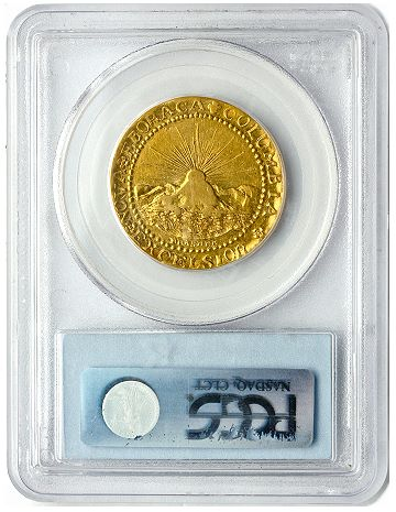 Brasher eb chest pcgs50 cac rev CAC Brasher Doubloon, Americas First Gold Coin, Sells for a Record $7.395 million