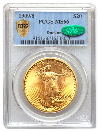 ducker 09 8 20 Coin Rarities & Related Topics: The Saint Gaudens $20 gold coins (Double Eagles) of Dr. Steven Duckor