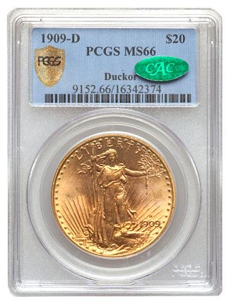 ducker 09d 20 Coin Rarities & Related Topics: The Saint Gaudens $20 gold coins (Double Eagles) of Dr. Steven Duckor