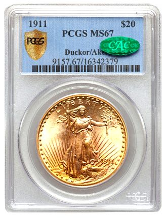 ducker 1911 20 Coin Rarities & Related Topics: The Dazzling Collecting Journey of Dr. Steven Duckor