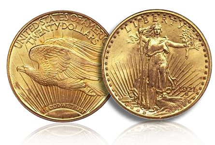 ducker 1921 saint Finest known 1921 Double Eagle leads Heritage Auctions FUN Platinum Night