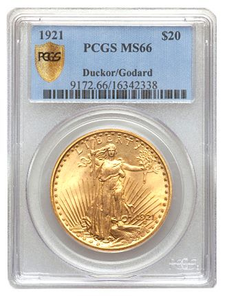 ducker 21 201 Each issue in the Saint Gaudens $20 series has a unique story – FUN auction sets tone for year