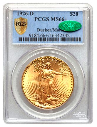 ducker 26 d 201 Coin Rarities & Related Topics: The Saint Gaudens $20 gold coins (Double Eagles) of Dr. Steven Duckor