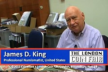 Numismatic Interview with James D. King