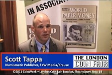 Numismatic Interview – Scott Tappa, Numismatic Publisher, F+W Media/Krause Publications