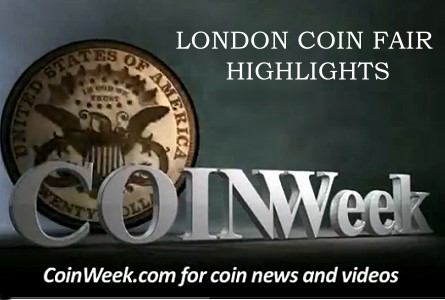 London Coin Fair Highlights November 2011