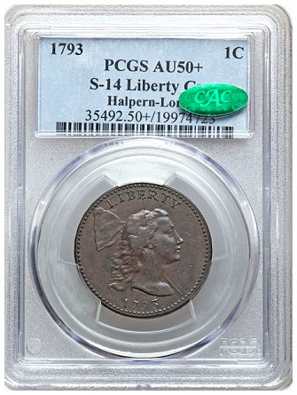 loring s141 Coin Rarities & Related Topics: The 1793 Large Cents of Denis Loring