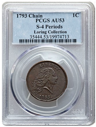 loring s41 Coin Rarities & Related Topics: The 1793 Large Cents of Denis Loring