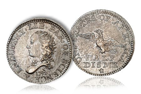 1792HalfDisme Money Museum receives 1792 Half Disme from California coin dealer