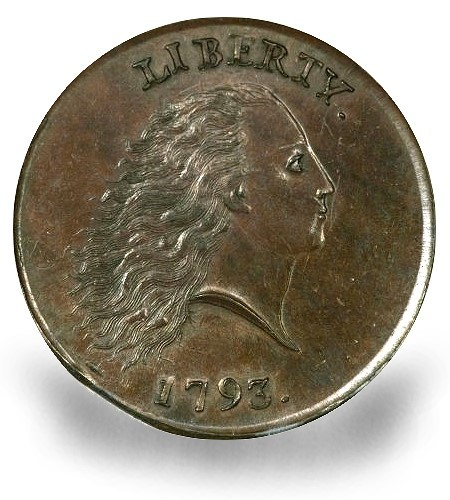 1793 s4 eliasberg fun12 obv Coin Rarities & Related Topics: 1793 Cent sets $1.38 Million Auction Record for a Copper coin